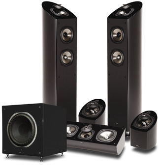 Home Theater Sound Equipment Review Mirage Om Design Omd 15